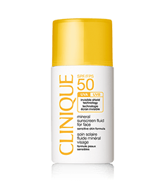 SPF50 Mineral Fluid For Face
